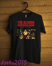 $enCountryForm.capitalKeyWord Australia - The Allman Brothers Band Legendary Radio T-shirt BlaFunny Men USA Size S - 2XL
