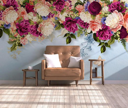 $enCountryForm.capitalKeyWord Australia - Flower Butterfly Wallpaper Wall Mural Photo Wall Papers Art Decor Canvas Floral Contact Paper Home Improvement Cover
