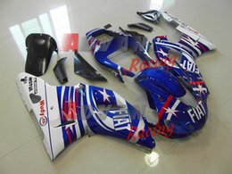 1999 Yamaha Yzf R1 Australia - New ABS Motorcycle Fairing kit for YAMAHA YZF R 1 98 99 YZF R 1 1998 1999 YZF1000 yzf r1 98 99 Fairings set cool blue white