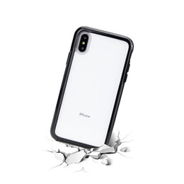 Wholesale BEST style Transparent mobile phone case in shockproof hard PC transparent iphone case back cover iPhone X Xr Xs Max S Plus