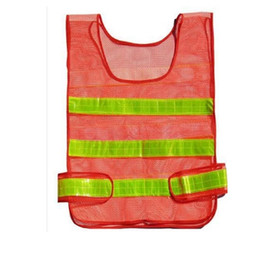 Wholesale new waistcoat designs resale online - New design Visibility Reflective Safety Vest Coat Sanitation Vest Traffic Safety warning clothes vest Safety working waistcoat cloth