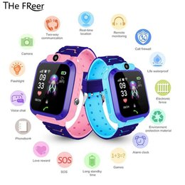 sos smart watch for kids NZ - Smart watch LBS Kid SmartWatches Baby Watch for Children SOS Call Location Finder Locator Tracker Anti Lost Voice Chat SIM Card