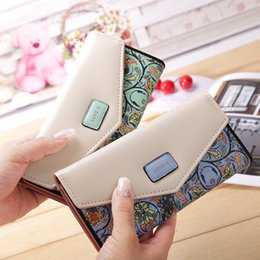 Long Designer Wallet Australia - 2019 Wallet For Women Wallets Brands Long Purse Dollar Price Printing Flowers Designer Purses Card Holder Coin Handbag Female