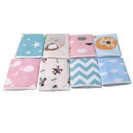 boys urinals Australia - Baby Changing Mat Table Diapers Urinal Game Play Cover Infant Mattress Cartoon Cotton Blend Waterproof Sheet Baby Changing Pad