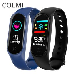 Fitness Band Trackers NZ - COLMI M3S Smart Bracelet Color-screen IP67 Fitness Tracker blood pressure Heart Rate Monitor Smart band For Android IOS phone