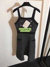$enCountryForm.capitalKeyWord NZ - 2019 Women's Spaghetti Strap Mini Dresses Hot Sale The High Qouality Panelled Sleeveless Pearl Dresses S-M-L