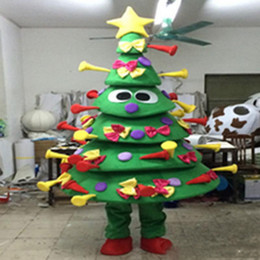 tree costumes Australia - High quality EVA Material Many gifts Christmas tree Mascot Costumes Crayon Cartoon Apparel Birthday party WS973