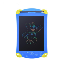 "$enCountryForm.capitalKeyWord UK - 8.5"" Colorful Screen Robot Writing Tablet Cartoon LCD Tablet Drawing Pen Writing Message Board Handwriting Pads Memo Board"