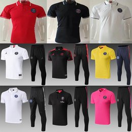 $enCountryForm.capitalKeyWord Australia - newest 2019 2020 PSG Soccer Training Shirts polo maillot de foot 18 19 20 MBAPPE Soccer Jerseys Kit Survetement 2020 football POLO shirts