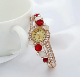 $enCountryForm.capitalKeyWord Australia - Designer bracelet fashion trend retro crystal diamond opal rhinestones hot luxury women's accessories fashion accessories manufacturers whol