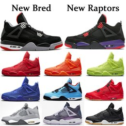 Wholesale 2019 New Purple Raptors Bred s Basketball shoes for men Cool Grey Monsoon Blue Mesh Knit Red Royal Orange Volt sports sneakers