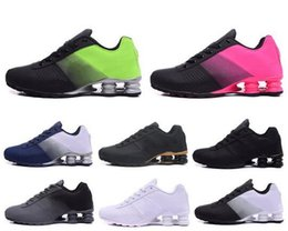 Nz ruNNiNg shoes online shopping - New Deliver Running Shoes OZ NZ Triple White Black Navy Women Mens Trainers Athiletic Sports Sneakers