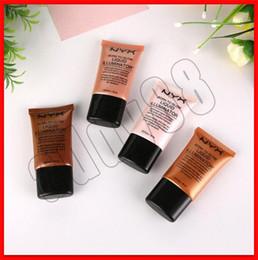 $enCountryForm.capitalKeyWord Australia - DHL free NYX Liquid Foundation Face Concealer Makeup Born To Glow Liquid Illuminator BB Cream Make Up Powder Cosmetics Skin Care