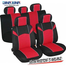 $enCountryForm.capitalKeyWord Australia - DinnXinn 111131F9 Hyundai 9 pcs full set PVC leather leather car seat covers factory from China