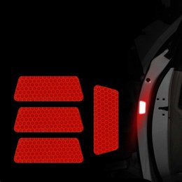 $enCountryForm.capitalKeyWord Australia - New Car Reflective Stickers Warning Tape Reflective Strips for Wheel Eyebrow Doors Tail Trunk Car-styling Accessories