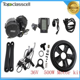 $enCountryForm.capitalKeyWord Australia - EU No Tax 36V 500W BAFANG Brushless Geared Mid-Drive Motor eBike Conversion Kits with integrated Controller and LCD Display-C965