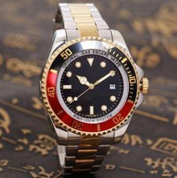 $enCountryForm.capitalKeyWord NZ - 2019 Top Selling fashion Men Black Red Dial Date Watch Gold Silver Stainless Steel Watch Male Quartz Watches Waterproof Calendar Wristwatch