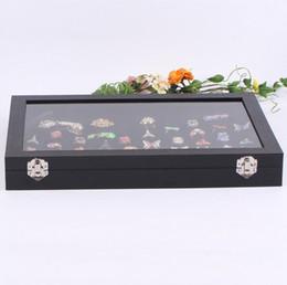 $enCountryForm.capitalKeyWord NZ - Jewelry Rings Display Tray Storage Box Show Case Organiser Holder with Lid - Black Velvet 100 Slot Ring Ear Studs Cases