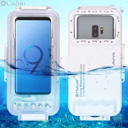 $enCountryForm.capitalKeyWord Australia - Cadiso 45m 147ft Waterproof Diving Case Housing Photo Video Taking Underwater Cover for Galaxy Huawei Xiaomi with Type-C Port
