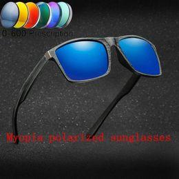5f5a598da9e 2019 myopia optical men s polarized sunglasses -1.0- to-6.0 Square polarized  Vintage Sun Glasses High Quality For Men Women FML