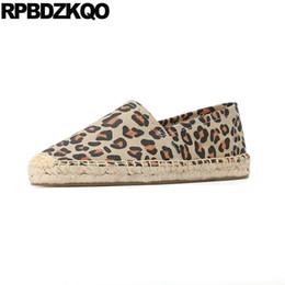 $enCountryForm.capitalKeyWord NZ - harajuku large size retro canvas shoes old peking cloth flats espadrilles striped denim leopard print jeans round toe women