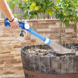 Wholesale Multi Function In Spray water Gun Dispenser Garden Sprayer Plastic Hose Pipe Conector Function Water Cannon Turbo Sprayer Tools MMA1628