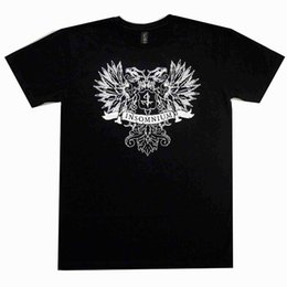 Discount metal death - Insomnium Crest Official Tshirt Death Metal Band T-Shirt Casual T Shirt Male Short Sleeve Pattern Chinese Style