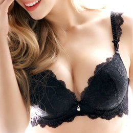 Bras sets online shopping - Sexy Bra Set New Womens Underwear Set Lace Sexy Push Up Bra And Sets Bow Comfortable Brassiere Young Bra Deep V Lingerie