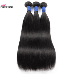 kinky waves 2019 - 10A Brazilian Straight Human Hair Bundles 3 4 Bundles Deals Kinky Curly Loose Deep Indian Remy Human Hair Weft Extension