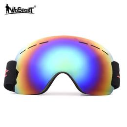 $enCountryForm.capitalKeyWord Australia - 1 Pcs Ski Goggles Snowmobiling Goggles Anti Fog Snowboard Wind Mirror for Riding Cycling for Ski Windproof Adult 4 Color
