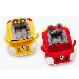 kennels pens Australia - Car Shaped Pet Cushion Dog Bed House Beds Cat Bed Cushion Kennel Pens Doggy Puppy Sofa Sleeping Bag Warm kennels 1PC