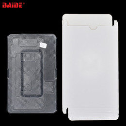 Packed Iphone Australia - LCD Touch Screen Package Wholesale with Plastic EVA White Paper Packing Box for iPhone 7Plus 8Plus X XR Xs Max 400set lot