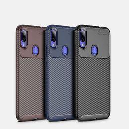Nextel Battery Australia - Carbon Fiber Texture TPU Cell Phone Cases For Xiaomi 8 samsung S10 plus Iphone XR Slim Soft TPU Case