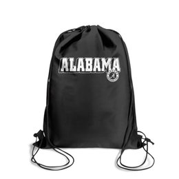 $enCountryForm.capitalKeyWord Australia - Drawstring Sports Backpack Alabama Crimson Tide football logo Marble Print Personalized Convenient Sack Pouch Pull String Backpack