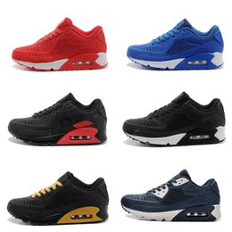 air sports Australia - High Quality Air Cushion KPU Men Women Black White Sport Running Shoes Homme Chaussures classical Sneakers Size 36-46