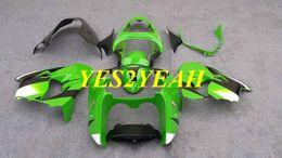 $enCountryForm.capitalKeyWord UK - Custom Fairings Bodywork for KAWASAKI Ninja ZX-9R ZX9R 2000 2001 ZX 9R 00 01 ABS Green Fairing body kit+gifts KK13