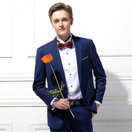 Studio Suits Australia - Youth Small Suit Two-piece Men's Business Professional Dress Wedding Banquet Studio Party Ball Gown Suit