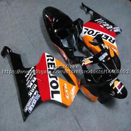 $enCountryForm.capitalKeyWord Australia - 23colors+Screws repsol orange motorcycle Fairing hull For Honda VTR1000SP1 2002-2006 RC51 ABS plastic kit