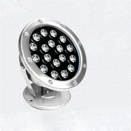 underwater floodlights UK - 18W LED waterproof Underwater spotlight for pool view outdoor villa square lawn garden floodlight