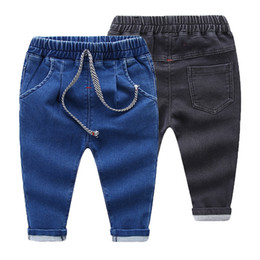 $enCountryForm.capitalKeyWord Australia - Girls Jeans Baby Kids Jeans for Children Boys Girls Leggings Kids Skinny Pants Girl Kids Pants for Boy Cotton