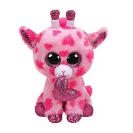 "$enCountryForm.capitalKeyWord Australia - 2019 Valentine TY Beanie Boos 6"" SWEETUMS The Giraffe Plush Regular Soft Big-eyed Stuffed Animal Collection Doll Toy"