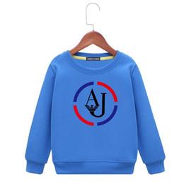 $enCountryForm.capitalKeyWord UK - Kids Hoodies Children Sweater Female Spring 2019 New Pattern Boy Jacket Clothes Korean Edition Girl Short Paragraph Bat Shirt Foreign