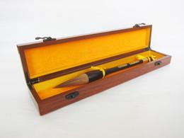 $enCountryForm.capitalKeyWord Australia - Big fountain pen, big wolf pen, black sandalwood fountain pen, Chinese painting gift box, big brush