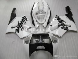 KawasaKi zx7r fairing blacK white online shopping - fairing kit for Kawasaki Ninja ZX7R classical white black fairings kits ZX7R TY58