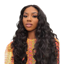 China Body Wave Wig 13x4 Deep Part Lace Front Human Hair Wigs for Black Women Malaysia Remy Full Ends Pre Plucked with Baby Hair cheap human hair lace front deep part suppliers