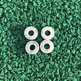 ceramic balls Australia - 4pcs lot MR105 full Ceramic ball bearing 5x10x4 mm Zirconia ZrO2 Ceramic Bearings 5*10*4 mm
