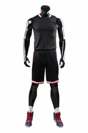 Wholesale 5xl basketball uniforms resale online - New Style Basketball Uniform Sets Sports Jersey For Men