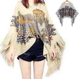 $enCountryForm.capitalKeyWord Australia - Autumn Winter Cardigan Women Harajuku European Style Sweater Poncho Casual Fashion Vintage Pullover Jersey Mujer Shirt Warm