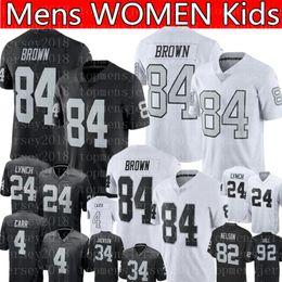 Cheap kids jersey online shopping - 84 Antonio Brown jersey Oakland Brown Raiders Football Jerseys Mens WOMEN KIDS youth Jersey cheap sale Embroidery Logos