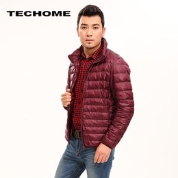 Dark autumn clothing online shopping - Brand Clothing Men Autumn Winter Duck Down Jacket Men Solid Breathable Jackets Men Outdoors Coats Parka chaqueta hombre Size XL S191019